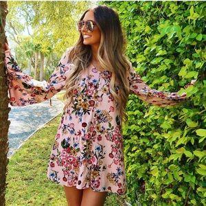 Women's Floral Flowy Dress